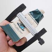 擠牙膏神器擠壓器工具手動金屬擠膏器美發染膏顏料牙膏夾不銹鋼艾維朵