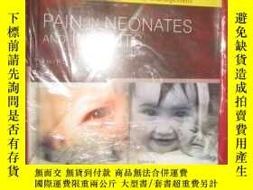 二手書博民逛書店Pain罕見in Neonates and Infants (硬