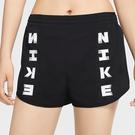 Nike Icon Clash Tempo Luxe 女裝 短褲 字樣 休閒 口袋 黑【運動世界】CZ1620-010