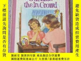 二手書博民逛書店Out罕見With the in Crowd (Jennifer