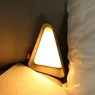 雜啊 創意翻轉小夜燈床頭燈重力感應迷你臥室護眼閱讀usb可充台燈 「雙11狂歡購」