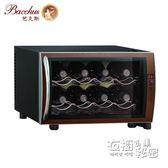紅酒櫃Bacchus/芭克斯 BW-25D2 紅酒櫃恒溫酒櫃冰吧家用小型客廳冷藏櫃HM 衣櫥の秘密