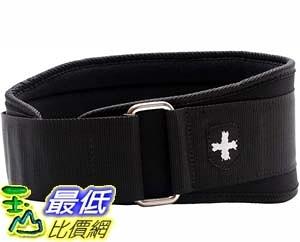 [9美國直購] 舉重腰帶 Harbinger 5-Inch Weightlifting Belt with Flexible Ultra-light Foam Core, Large (33 - 37 Inches)