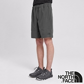 【THE NORTH FACE 美國】男 防潑水四向彈力短褲『灰』NF0A4CL1 登山 時尚 休閒 保暖 防風