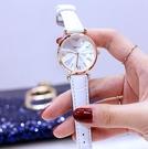 女生手錶 新款韓版時尚女手表ins風細帶大表盤簡約氣質防水皮帶學生【快速出貨八折下殺】