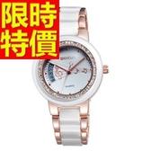 陶瓷錶-造型必備迷人女手錶3色55j36【時尚巴黎】