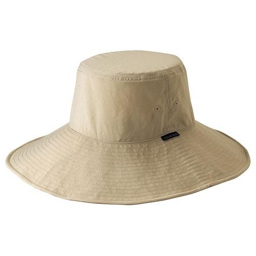 [好也戶外]mont-bell PARASOL HAT大盤帽 淺卡其/礦藍 NO.1108435-LTN/MINE