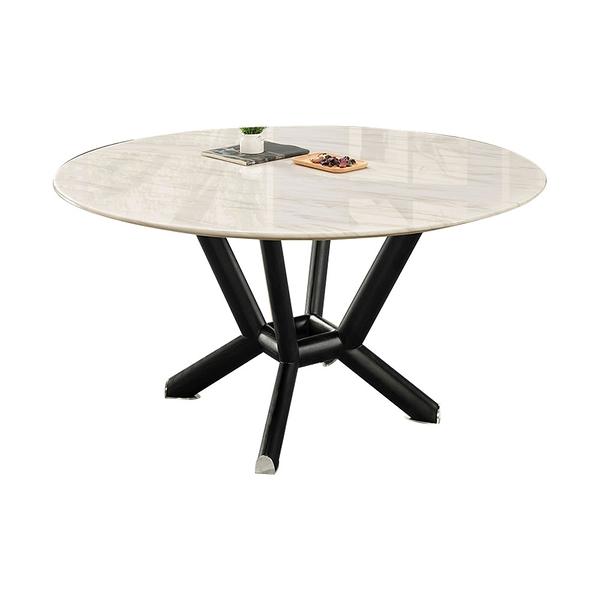 麥爾斯4.3尺圓餐桌(21HY2/B401-01)/H&D東稻家居