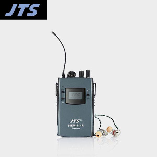 小叮噹的店- 台灣 JTS SIEM-111R  腰掛式接收機+耳機
