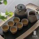 陸寶 快雪時晴茶禮 一壺一海六杯搭配茶盤...