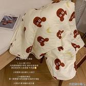 空調毯 馨幫幫雜貨鋪 卡通小熊毯子午休空調毯沙發休閑毯毛毯蓋被午睡毯 快速出貨