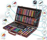 兒童繪畫套裝學習用品畫筆畫畫工具小學生水彩筆蠟筆美術文具禮盒YYP      琉璃美衣