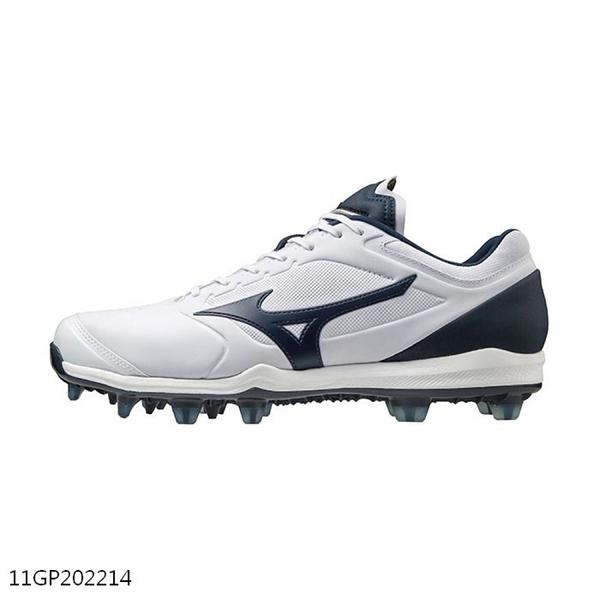 Mizuno Dominant 3 Tpu [11GP202214] 男女鞋 運動 棒球 壘球 釘鞋 抓地 緩震 白 藍