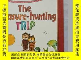 二手書博民逛書店英文原版:《The罕見Treasvre-hunting TRIP