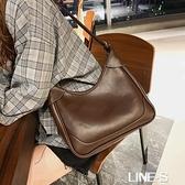 港風復古女士單肩腋下包包女2020新款潮時尚網紅大容量百搭斜挎包