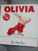 【書寶二手書T1/少年童書_WDW】Olivia on the Go: Dinner With Olivia..._Simon