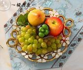 歐式陶瓷水果盤現代糖果盤