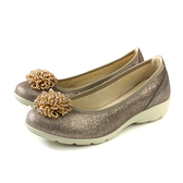 IMAC 懶人鞋 義大利製 古銅金 女鞋 厚底 30628072131013 no829