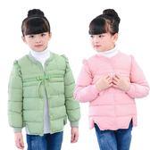 童裝兒童羽絨棉服小孩棉襖女童寶寶內膽上衣保暖棉衣外套 夢曼森居家