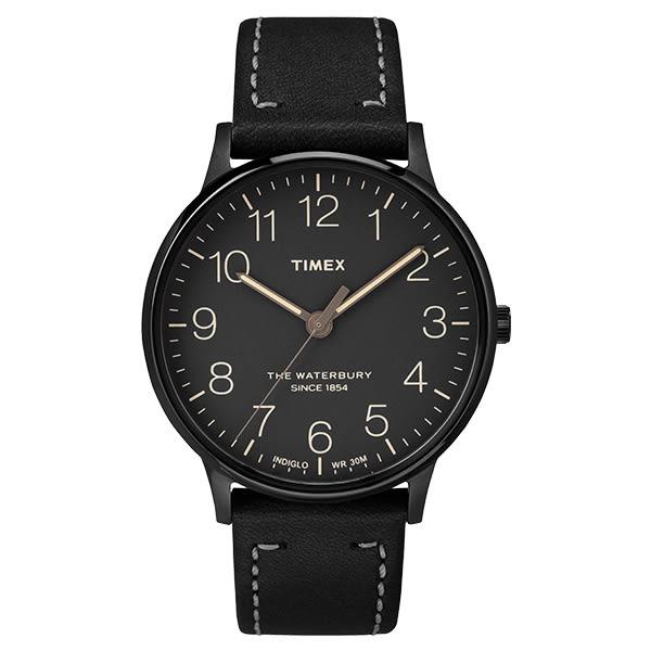 TIMEX 天美時 手錶(TXT2P95900) Waterbury系列 黑
