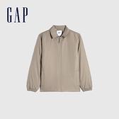 Gap男裝 工裝風時尚翻領外套 673680-淺棕色