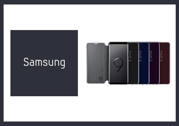 SAMSUNG Galaxy S9 Clear View 原廠全透視感應皮套(立架式)