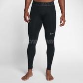 Nike 緊身褲 Pro HyperWarm Men's Training Tights 長褲 訓練褲 緊身 黑 灰 男款 【PUMP306】 838016-010