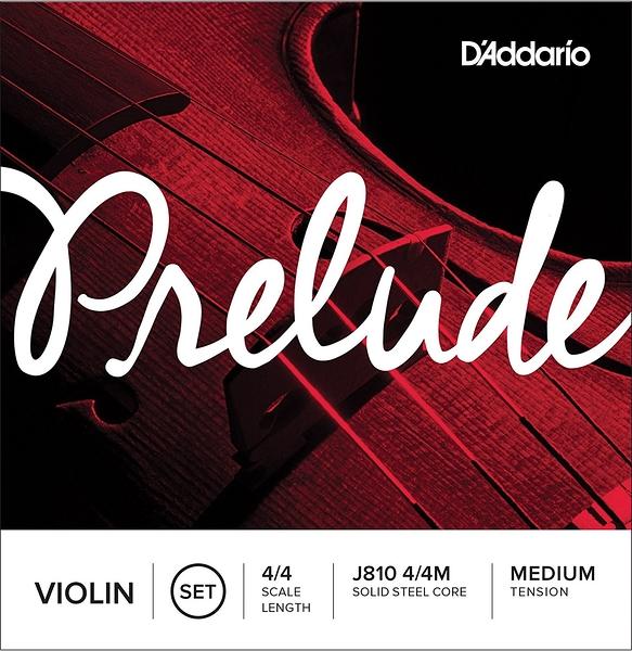 小叮噹的店 -小提琴弦 (4/4-1/4 整套) 美國 D'Addario Prelude J810 鋼弦