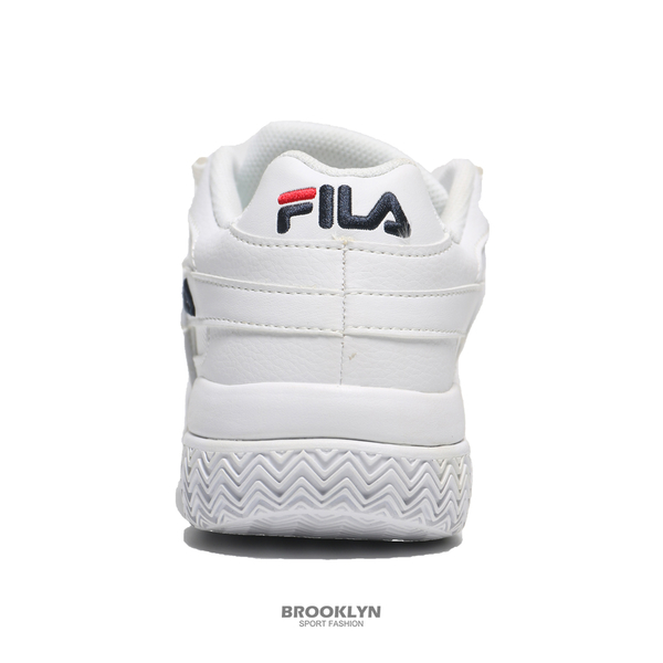 FILA 休閒鞋 BARRICADE XT 97 全白 麂皮 刺繡 老爹鞋 女 (布魯克林) 4B007U111