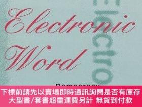 二手書博民逛書店The罕見Electronic WordY255174 Lanham, Richard A. Univ Of