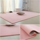 珊瑚絨客廳臥室地毯女生房間粉色公主少女定...