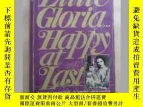 二手書博民逛書店Little罕見Gloria Happy at Last 原版口