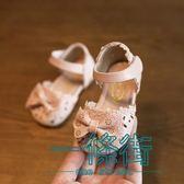 聖誕享好禮 2018春夏新款女童鞋涼鞋防滑軟底包頭韓版小孩寶寶公主