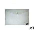 《享亮商城》OM-FA4HA51 透明 A4橫扣式公文袋
