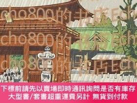二手書博民逛書店昭和大東京百圖繪根津權現の驟雨100罕見Views of Great Tokyo in the Showa Era