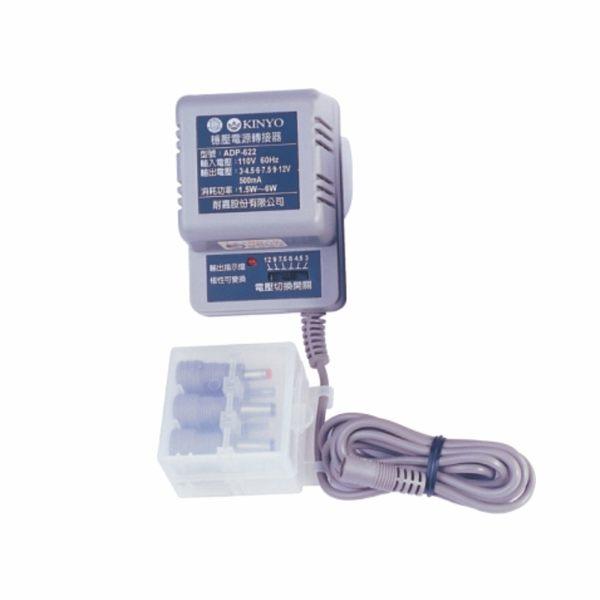 KINYO耐嘉 ADP-622 六段可調穩壓整流器 電源變壓器 電壓變換器 【迪特軍】