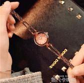 手鏈式手錶女學生韓版簡約潮流ulzzang復古ins日系chic風小巧女錶 依凡卡時尚