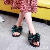 中大尺碼 夏季涼拖大碼女鞋厚底舒適軟底防滑孕婦41-43特大號拖鞋 aj8898『小美日記』