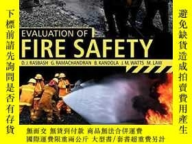 二手書博民逛書店Evaluation罕見Of Fire SafetyY256260 Rasbash, D. (edt)  Ra