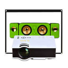 【Dr. Mango】220吋家庭劇院投影機+3.0音箱+100吋布幕