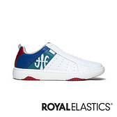 ROYAL ELASTICS ICON2.0 白綠藍真皮潮流運動休閒鞋 (男) 06501-045