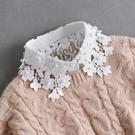 冬季毛衣裝飾假領子