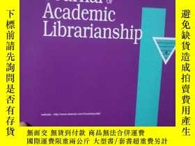 二手書博民逛書店THE罕見Journal OF Academic Lidrari