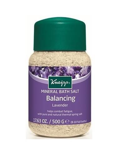 克奈圃 薰衣草精油原始鹽泉浴鹽 500g/瓶 限時特惠(買5罐送1罐即期 送完為止)