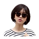 整頂假髮(真髮絲)-鮑伯頭內彎短髮舒適女假髮2色73vc11【時尚巴黎】