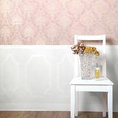 進口牆紙 rasch2018 朗飾74.5cm×10m/1卷 白色壁紙 牆腰線 仿真 塗油漆基底 Colors 116458