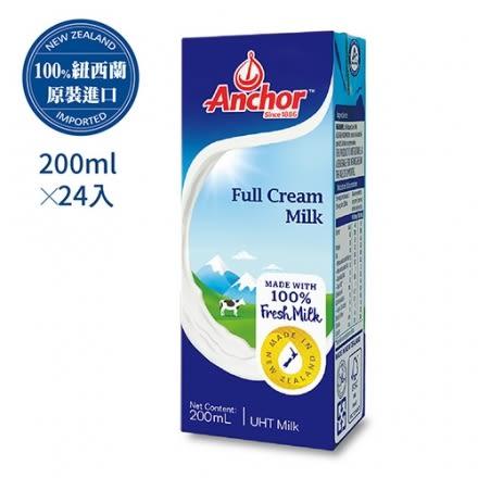 Anchor安佳紐西蘭牛奶(200mLx24瓶)