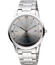 STAR 藝術時尚簡約風情腕錶-銀灰 9T1407-231S-GR