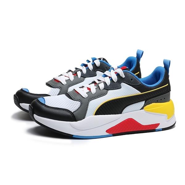 PUMA X RAY 紅黃藍黑 皮革 網布 復古 休閒鞋 情侶 男女 (布魯克林) 37260203