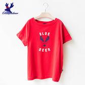 American Bluedeer- 印花小鹿上衣